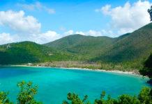National Park Service photo shows Maho Bay, part of the V.I. National Park.