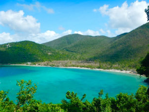 National Park Service photo shows Maho Bay, part of the V.I. National Park.