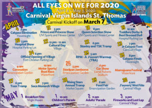 All Eyes on We for 2020 Carnival offers dates and locations for festivities.