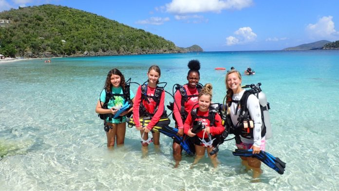 Virgin Islanders Use Youth Explorers Program as Marine Stepping Stone (Photo Courtesy of Youth Ocean Explorers Program)