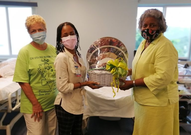 Sorority Gifts UVI Student Nurses With Much Needed PPE